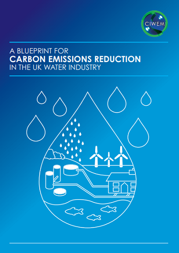 A blueprint for carbon emissions reductions in the UK water industry