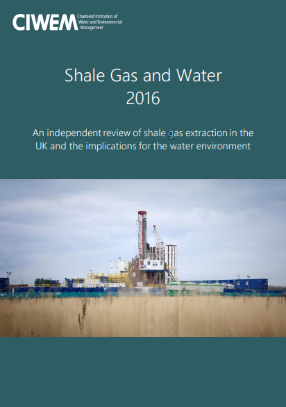 Shale Gas and Water 2016